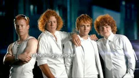 Ginger haired boy band