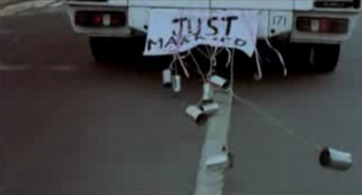 Just Married Cans