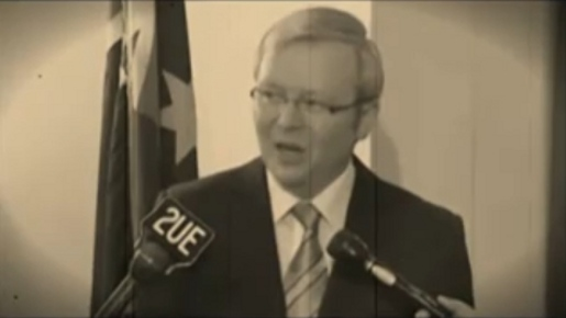 Kevin Rudd in Adventures of Kevin Rudd and Brendan Nelson