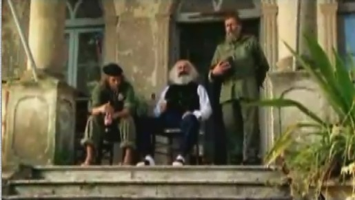 Karl Marx, Che Guevara and Fidel Castro in Renault Dacia commercial