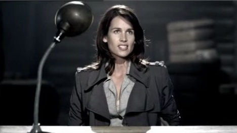 Resistance woman in NZ