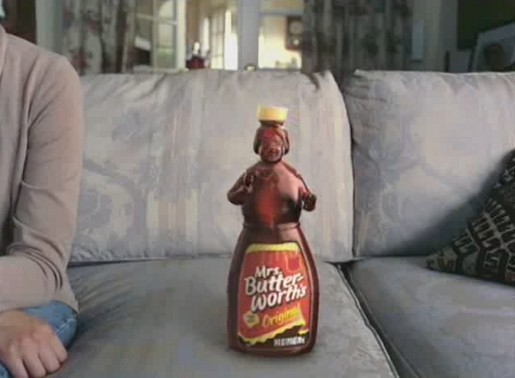 Mrs Butterworth in Geico ad