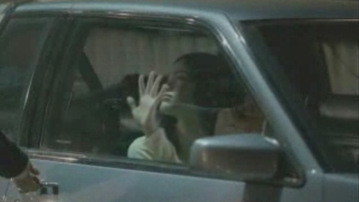 Girl's hand goes to car window in Impulse True Love commercial
