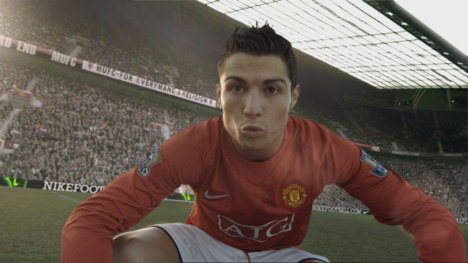 Cristiano in Nike Next Level ad