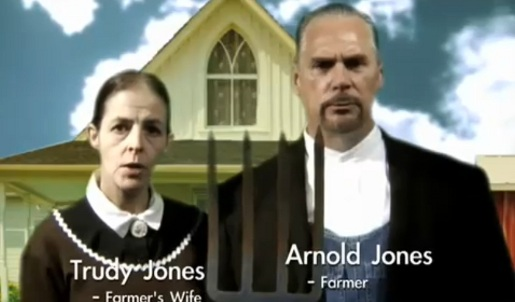 Trudy and Arnold Jones Voting Republican