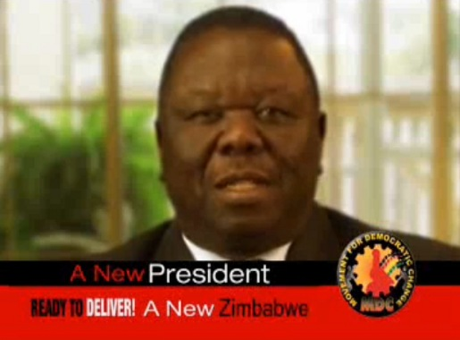 Morgan Tsvangirai in YouTube video