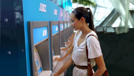 Woman with clones in ANZ Unlimited Transactions