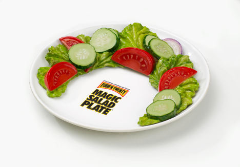 Magic Salad Plate