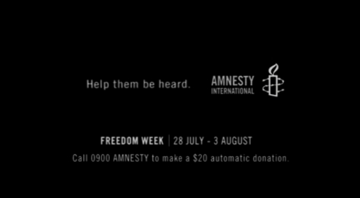 Amnesty Blackout