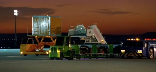 Cadbury Airport Trucks