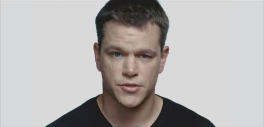Matt Damon in One Voices television commercial