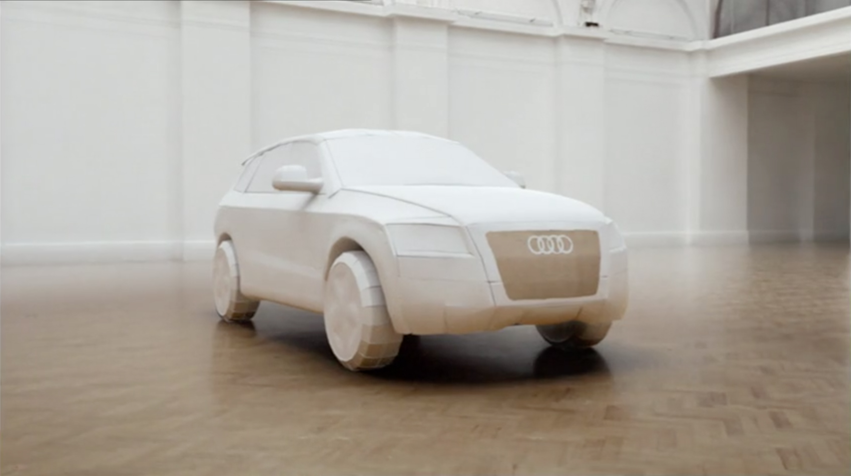 Audi Unboxed With Animation The Inspiration Room - Audi car song