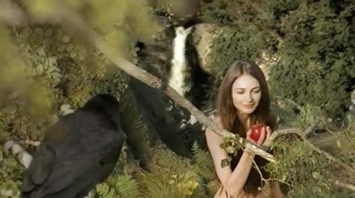 Woman claims apple in 5 Seeds commercial