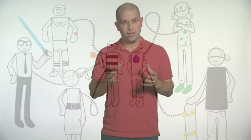 Matt Cutts with Google Search cartoon