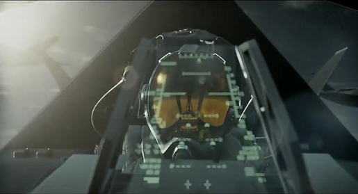 Stealth Pilot in Verizon Droid commercial