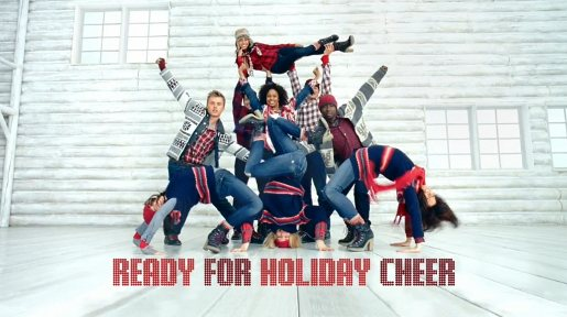 Gap Holiday Cheer dancers