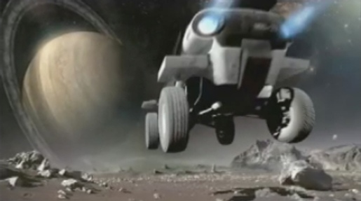 Moon buggy in Bridgestone Hot Item commercial