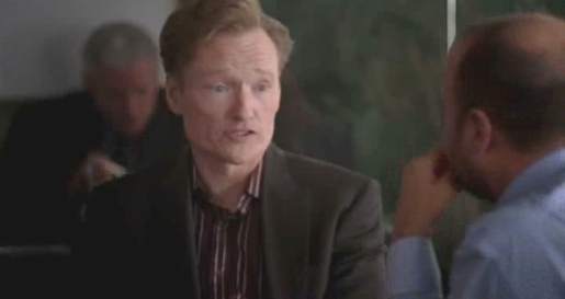 Conan O'Brien in Bud Light commercial