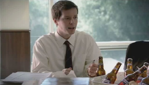 Bud Light a suggestion in Office Meeting