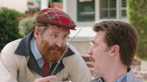 Scotsman with dipstick in Castrol commercial