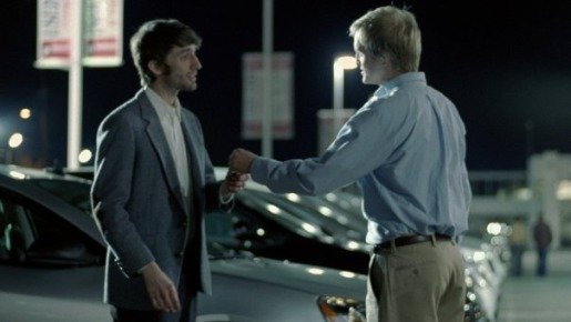 David Abernathy with car keys in Cars.com commercial