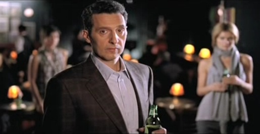 John Turturro in Heineken commercial