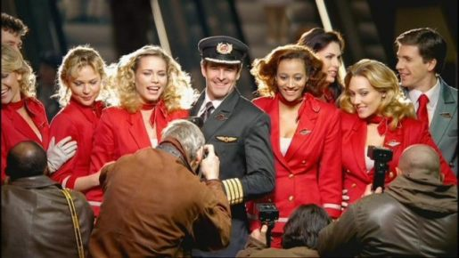 Virgin Atlantic crew