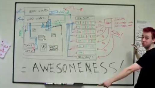 SSD Awesomeness whiteboard