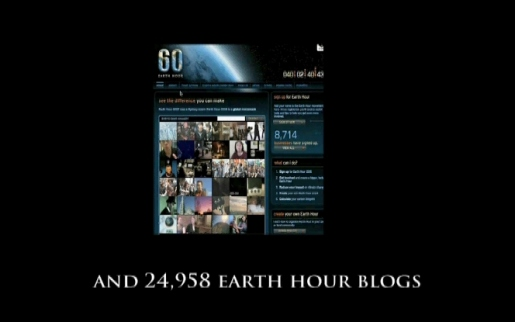 Earth Hour blogs