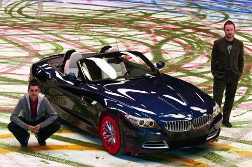 BMW Art of Driving artists Jake Scott and Robin Rhode