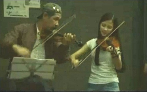 Pantene Violinists in Bangkok
