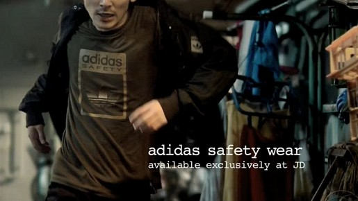 Adidas Breakup Service rider Akira wears Adidas Original Safety gear