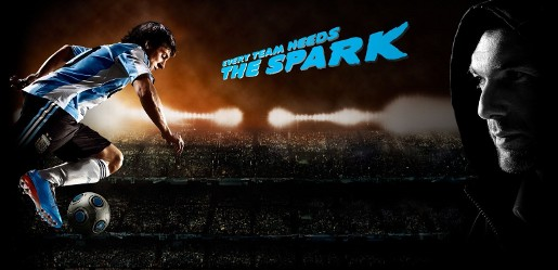 Messi and Zidane in Adidas Spark video