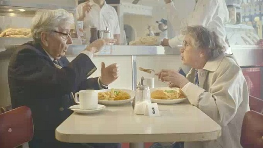 Old couple in Heinz Bottle TV advert