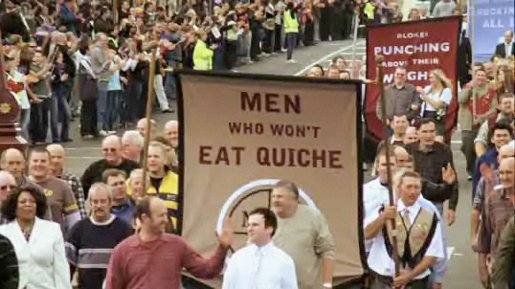 Men Who Don't Eat Quiche