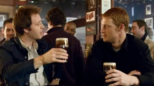 Guinness To Arthur TV advert
