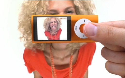 Nano Shoots Video spot for iPod Nano video camera