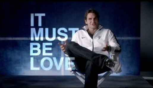 Roger Federer It Must Be Love