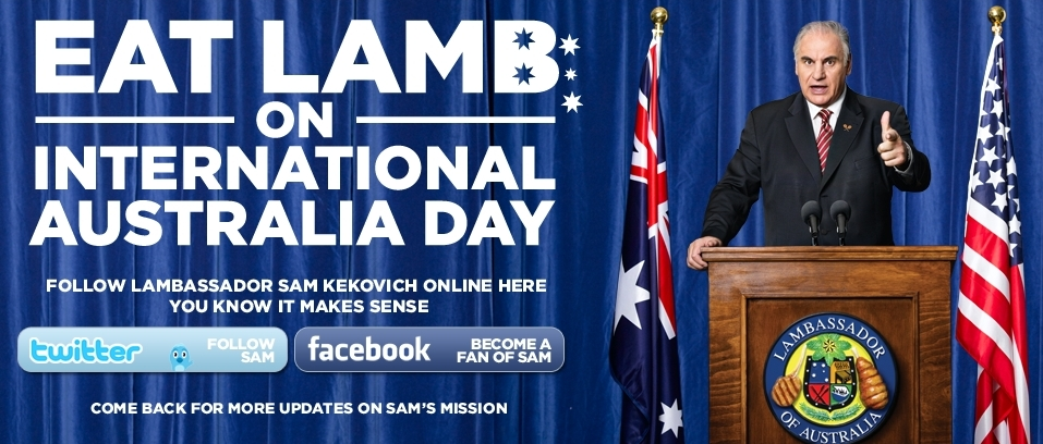 Australia Day - Eat Lamb - Or else  Sam_kekovich_lambassador