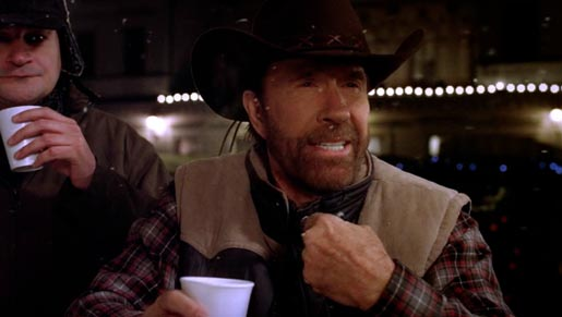 Chuck Norris in T-Mobile ad