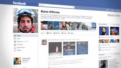 Blaise DiPersia Facebook profile