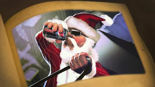 Santa sips Pepsi Max in Snoop Dogg Christmas Story