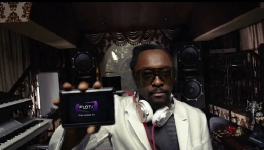 Will.i.am in FloTV Super Bowl Ad