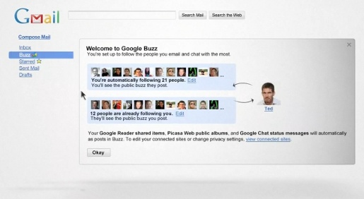 Google Buzz video