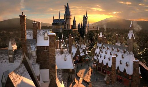 Harry Potter World in Universal Orlando