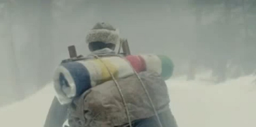 Hudson Bay Company pack in Vancouver 2010 commercial