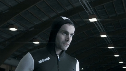 Kevin van der Perrin in Vancouver 2010 Olympics commercial