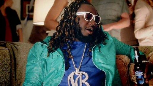 T-Pain in Bud Light commercial