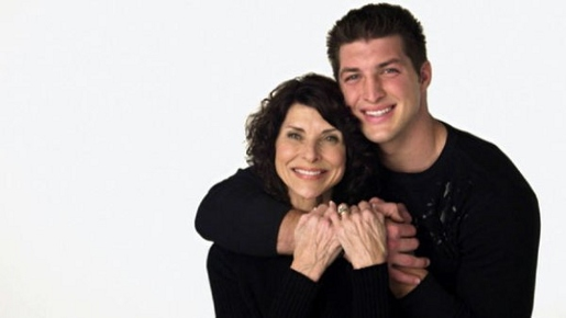 Pam and Tim Tebow