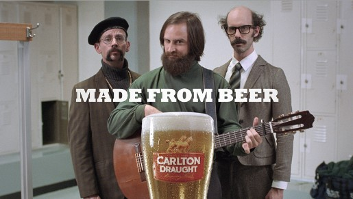 Carlton Draught Made from Beer
